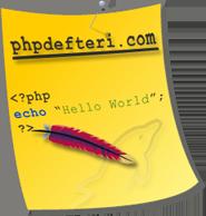 PHP Ders Notları
